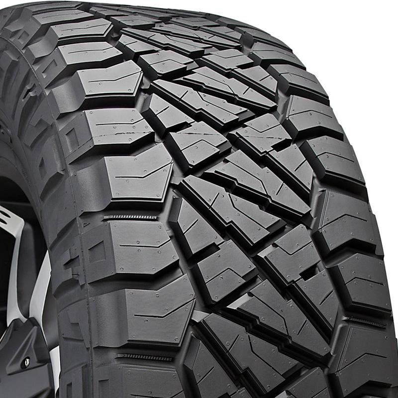 Nitto 217160 Ridge Grappler Tire LT275 /70 R18 125Q E1 BSW