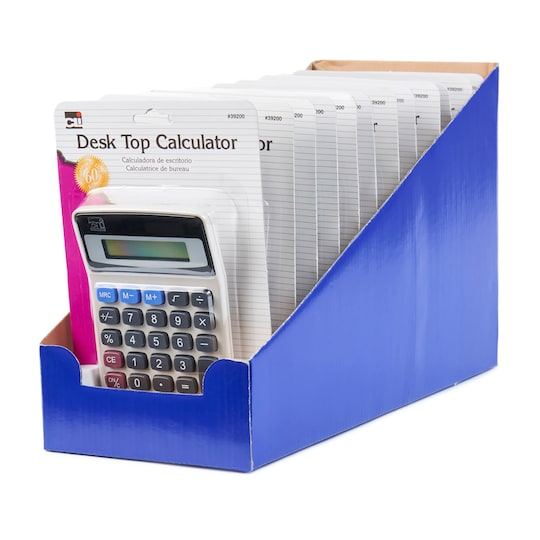 Gray Desk Top Calculator, 12Ct. By Charles Leonard | Michaels®