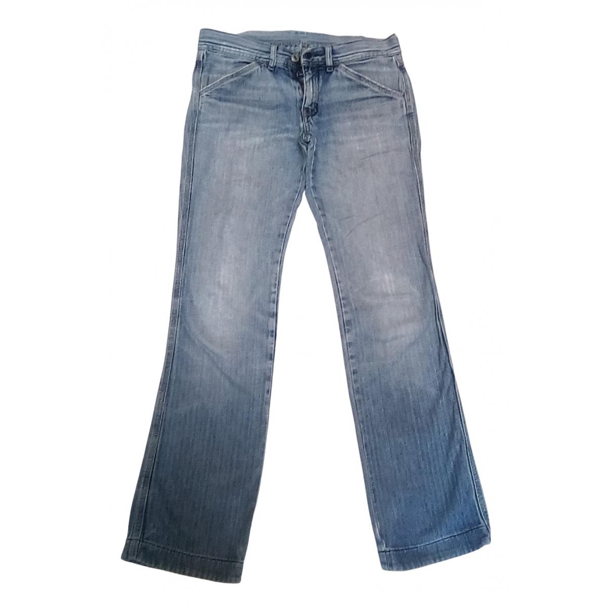 Diesel - Jean   pour femme en coton - bleu