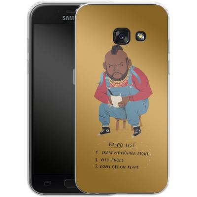 Samsung Galaxy A3 (2017) Silikon Handyhuelle - Mr T To Do List von Louis Ros