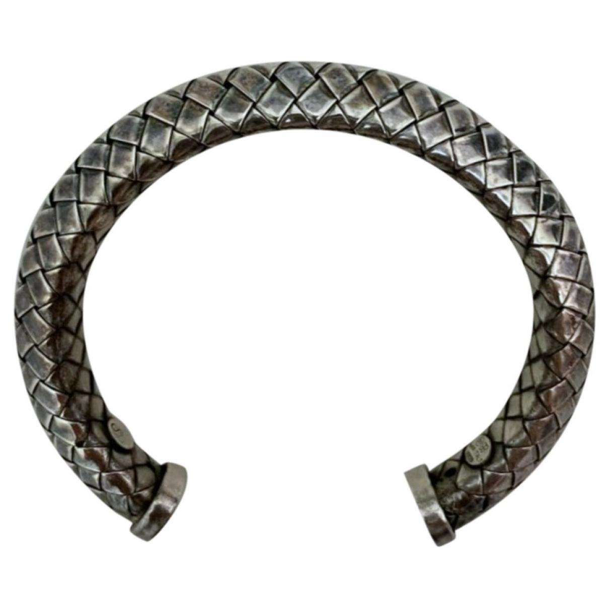 Bottega Veneta \N Armband in  Silber Silber