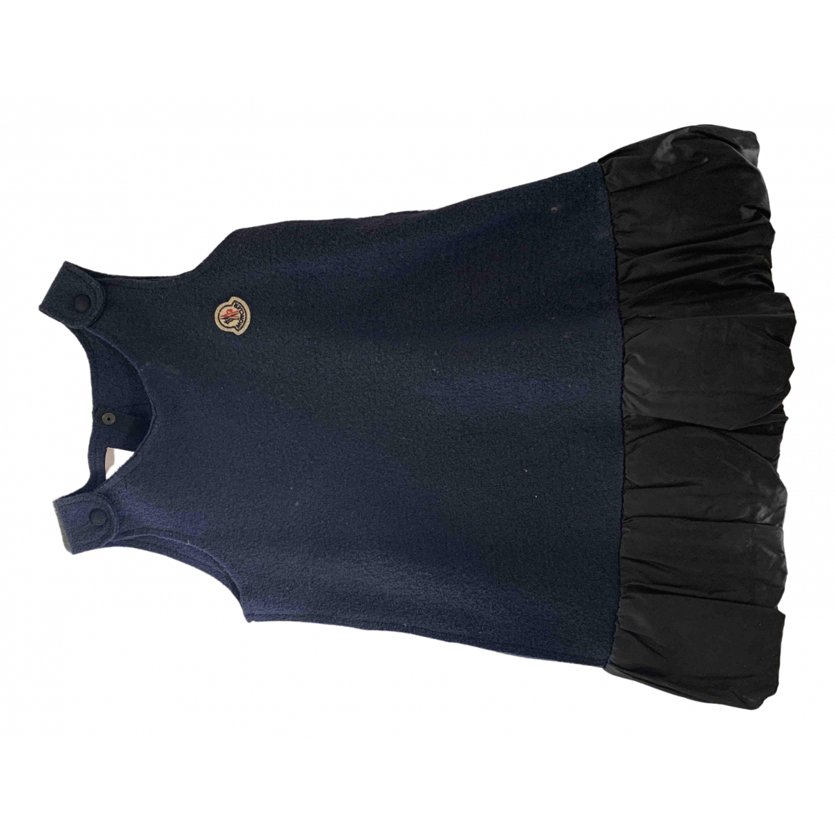 Moncler N Blue Wool dress for Kids 4 years - up to 102cm FR