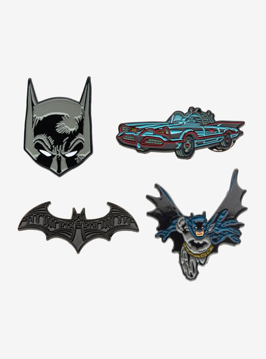 DC Comics Batman Enamel Pin Set
