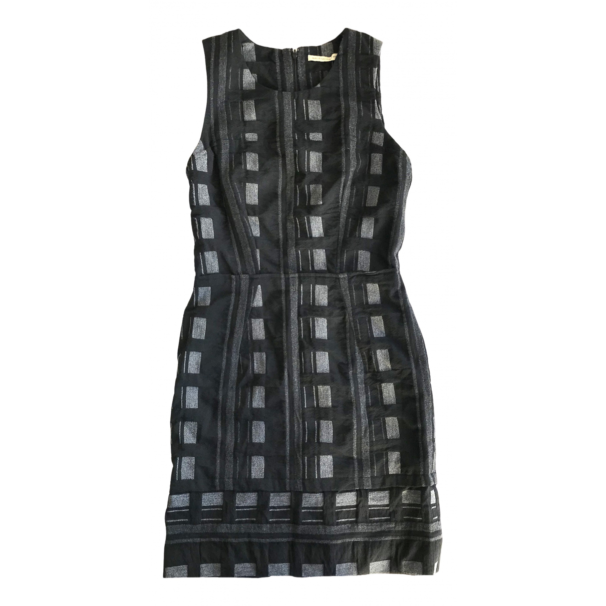 Balenciaga \N Kleid in  Schwarz Wolle