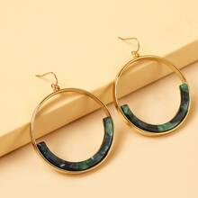 Ohrringe mit Kreis Design
