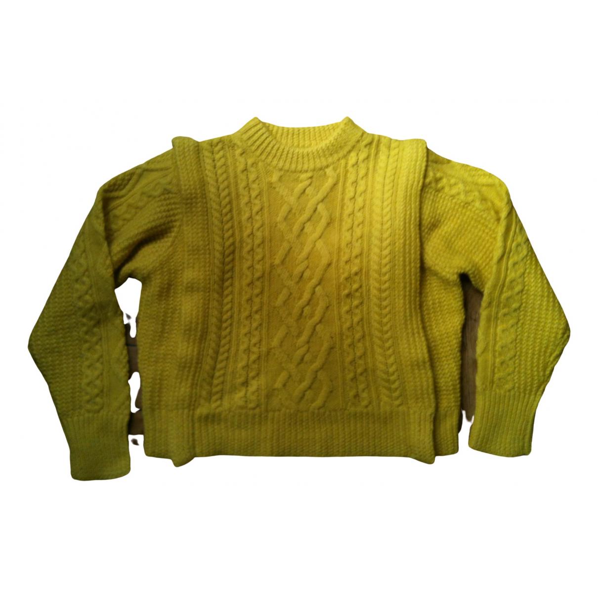 Isabel Marant Etoile \N Yellow Wool Knitwear for Women 38 FR