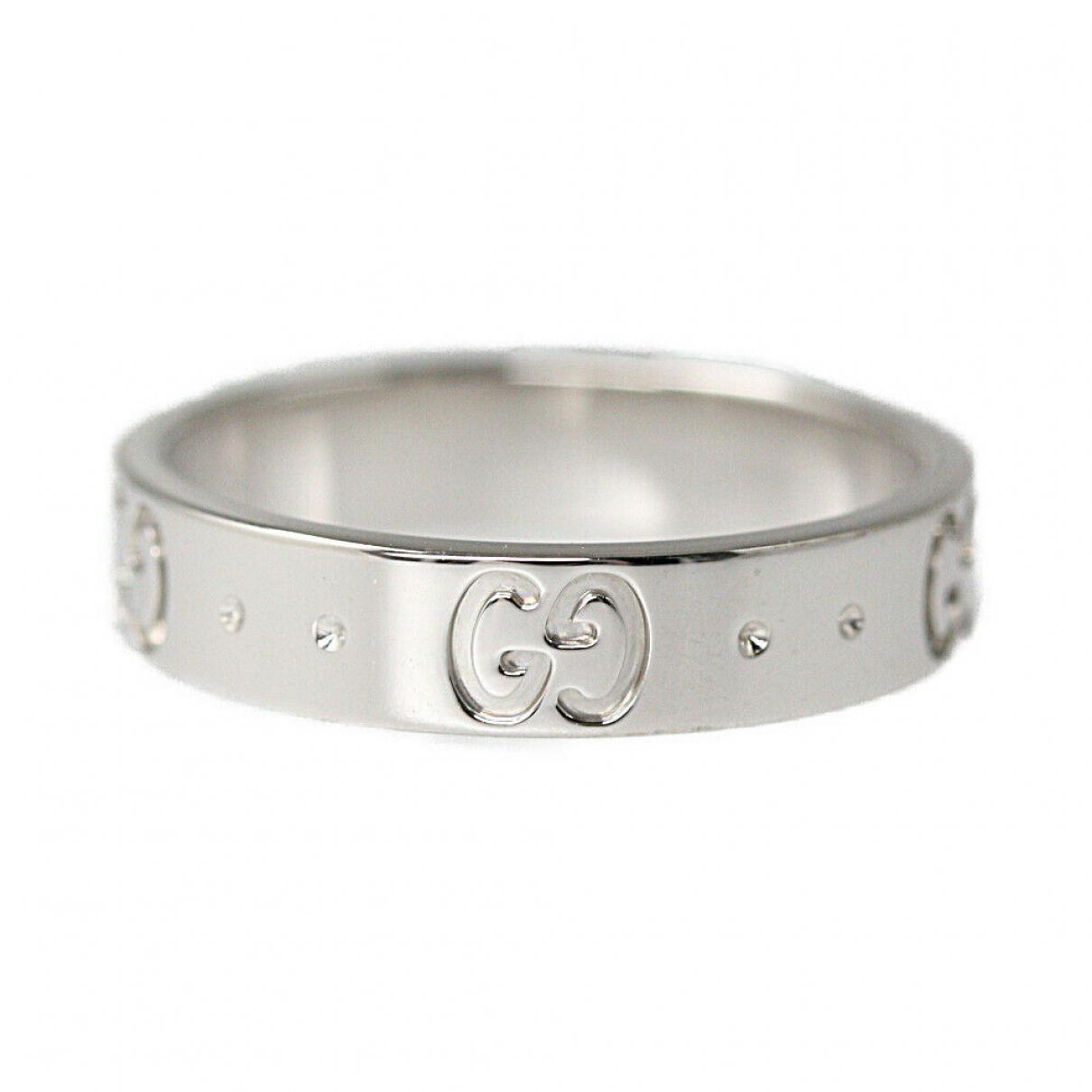Gucci \N Gold White gold ring for Women 50 EU
