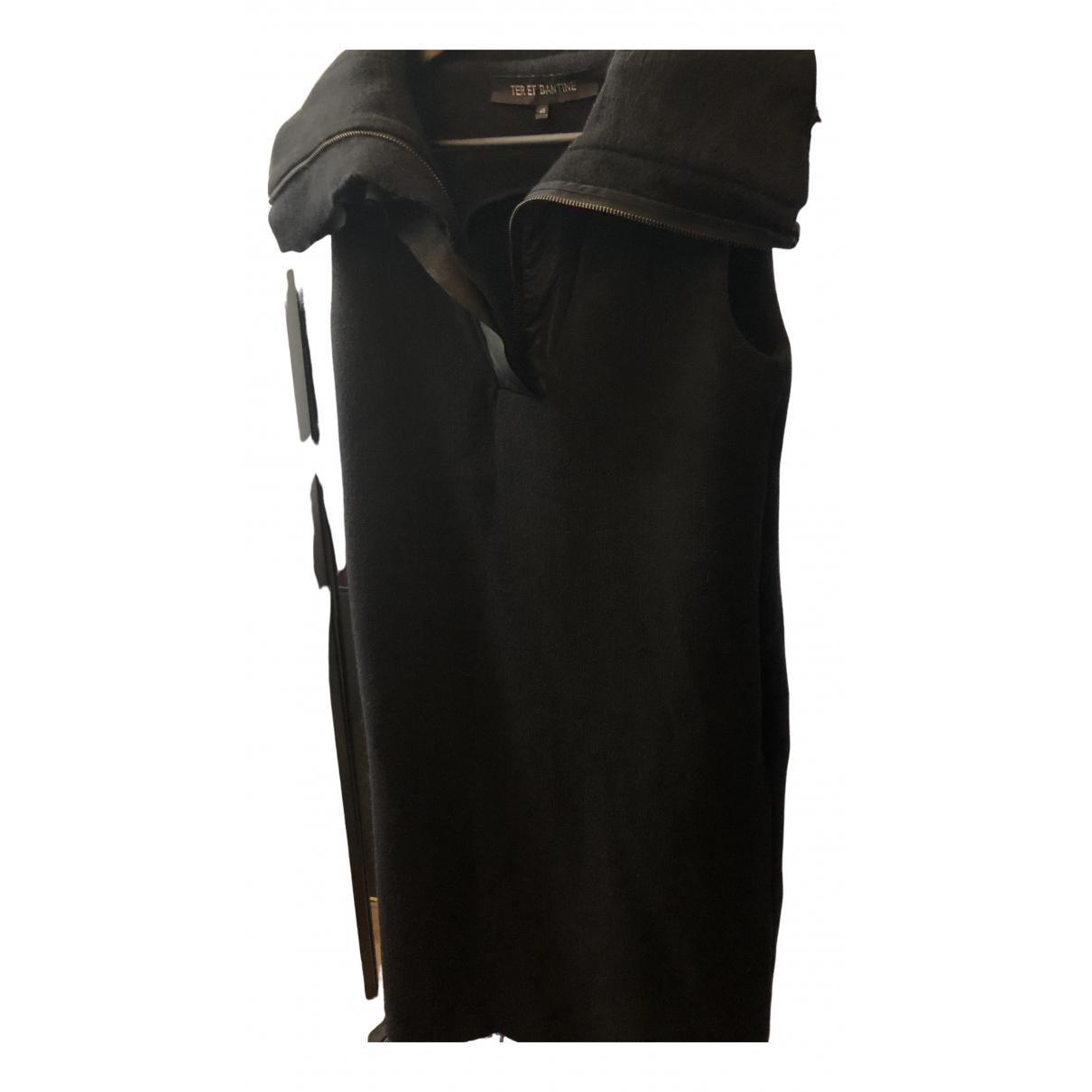 Ter Et Bantine \N Kleid in  Schwarz Wolle