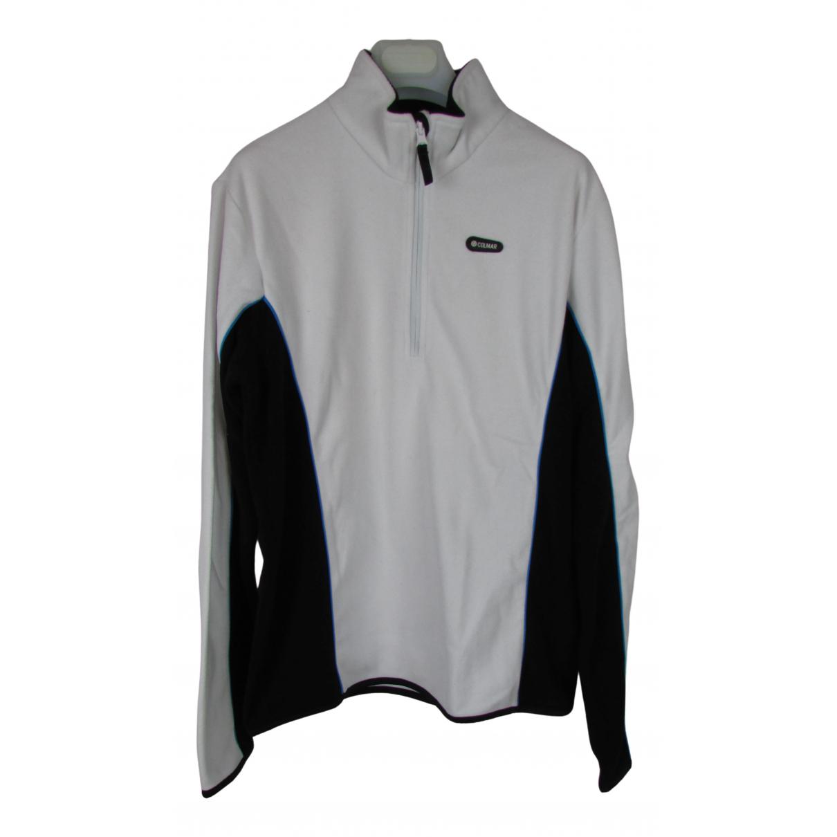 Colmar \N Pullover.Westen.Sweatshirts  in  Weiss Polyester