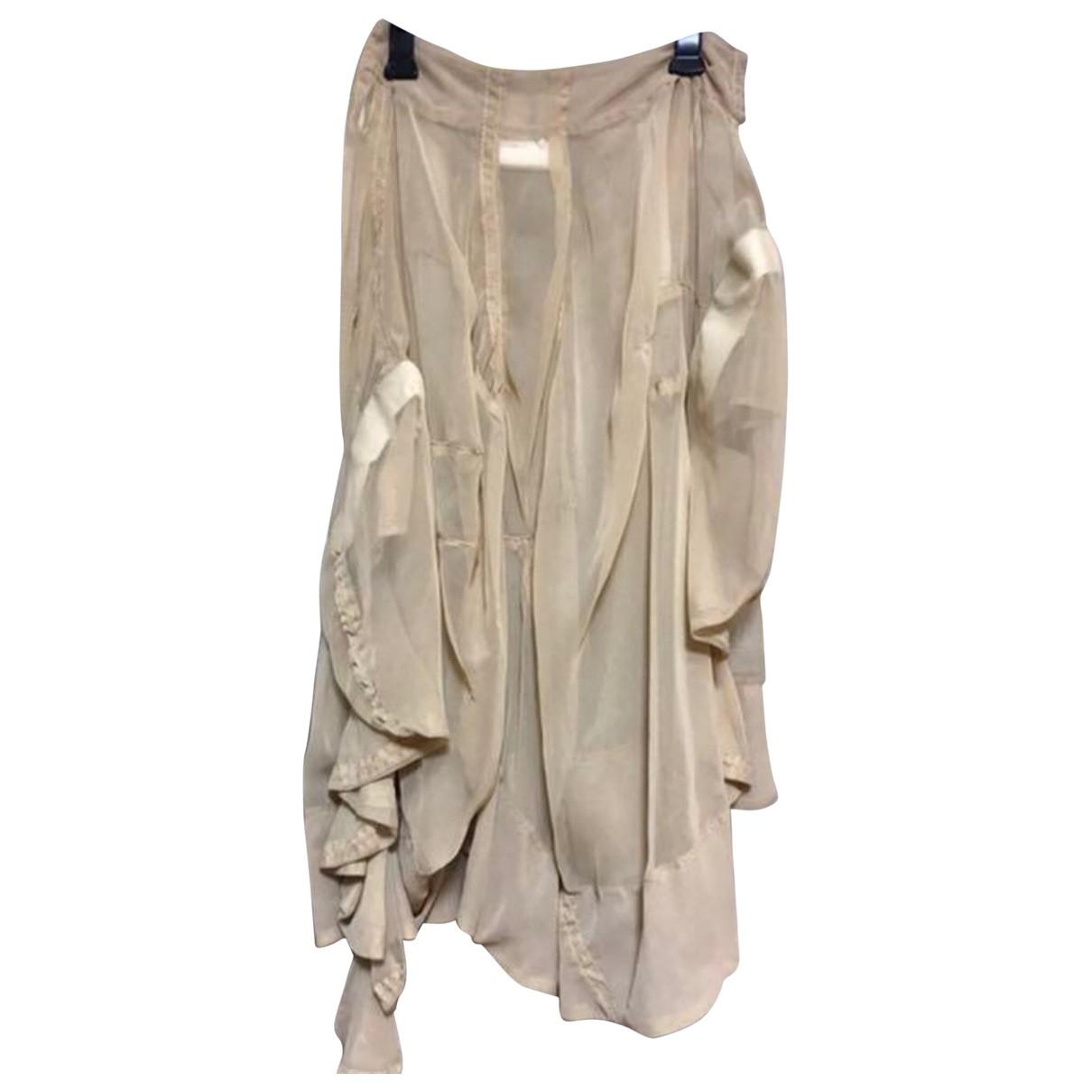 Comme Des Garcons N Beige skirt for Women S International