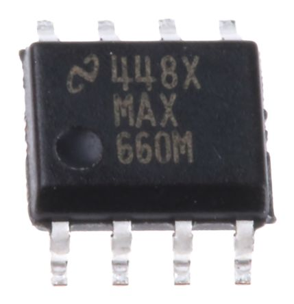 Texas Instruments MAX660M/NOPB, Charge Pump Inverting, Step Up, -5.5 → -1.5 V 8-Pin, SOIC (5)