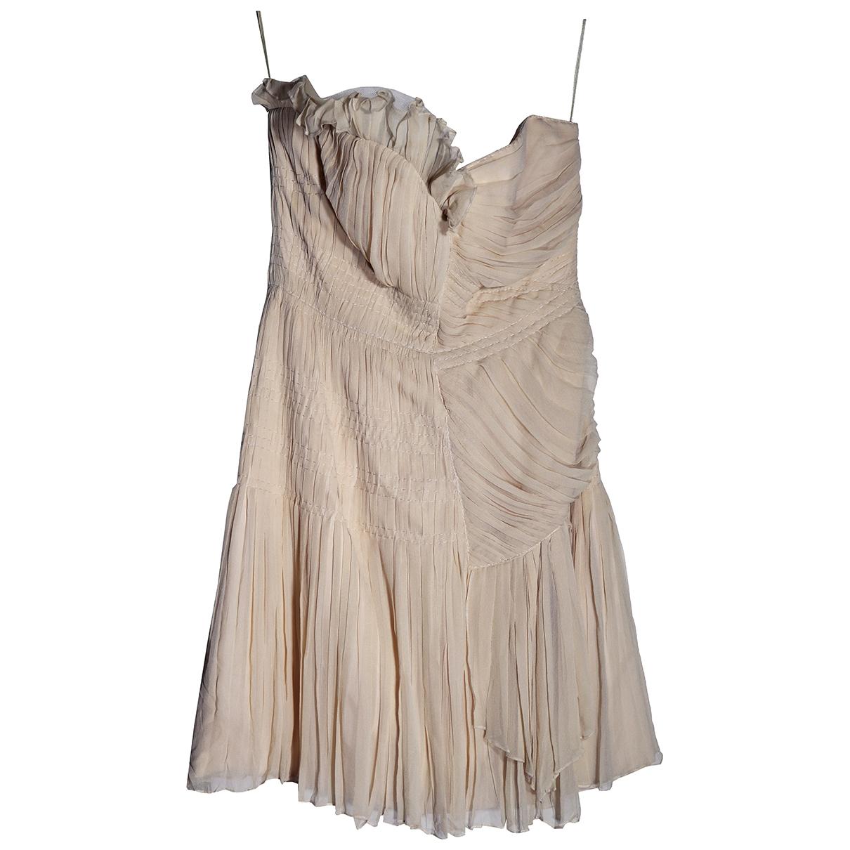 Philosophy Di Alberta Ferretti \N Kleid in  Rosa Seide