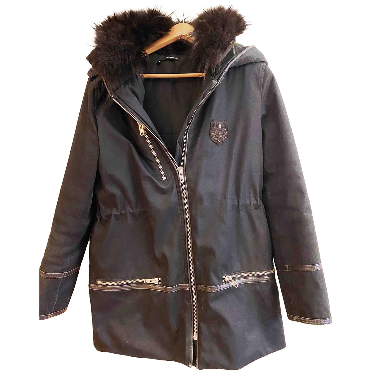 The Kooples \N Black coat for Women S International
