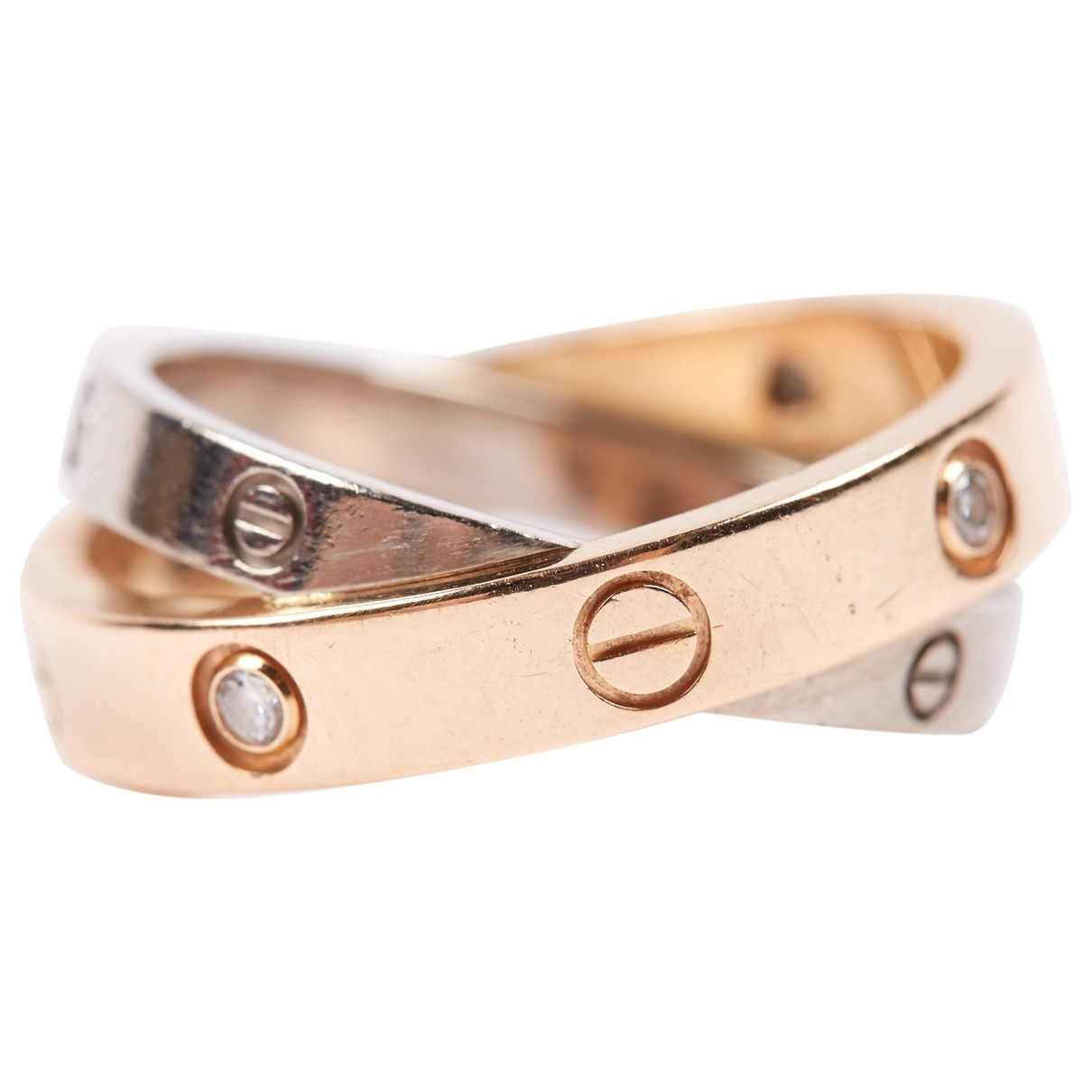 Cartier Love Gold Pink gold ring for Women 49 MM
