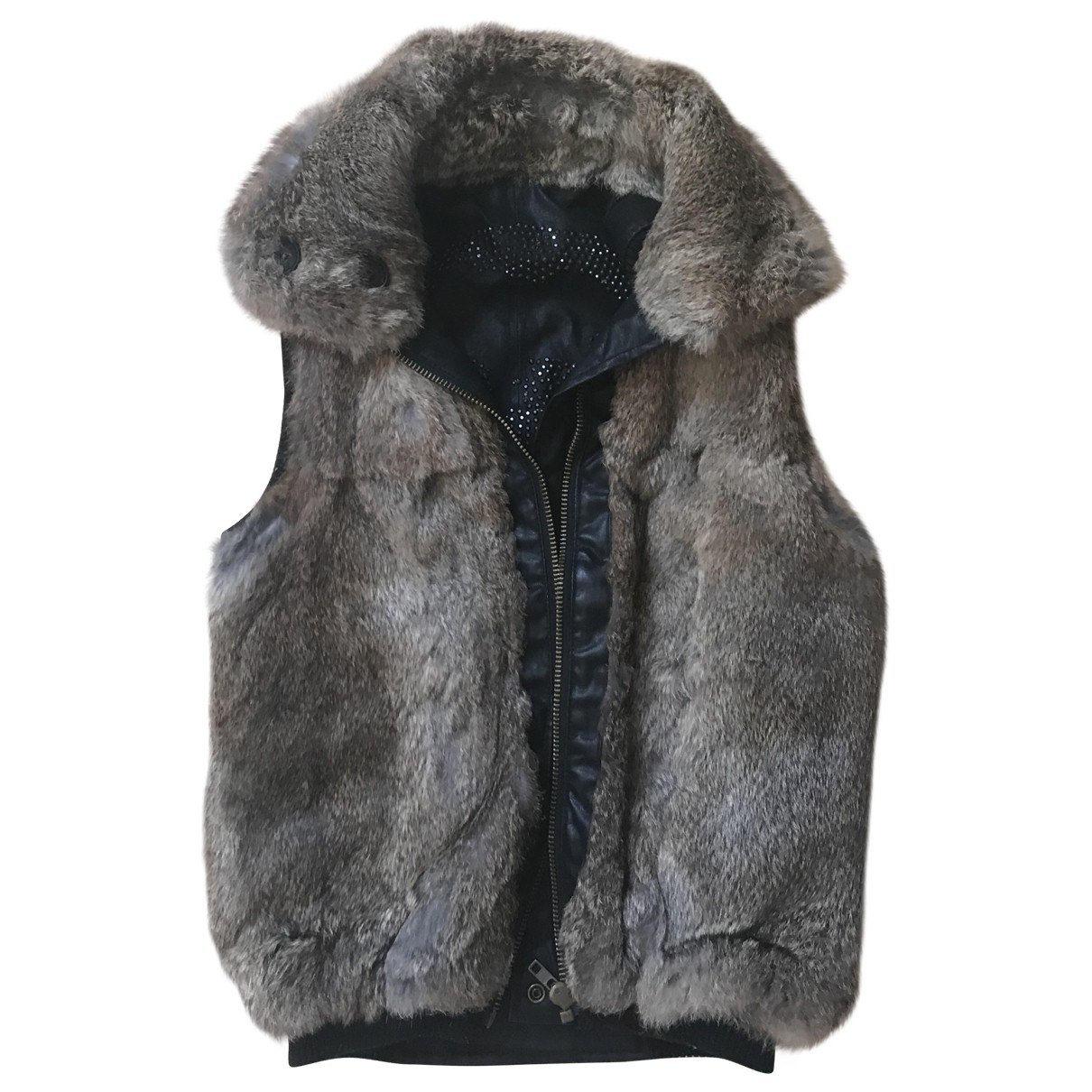 Zadig & Voltaire \N Pullover in  Schwarz Kaninchen