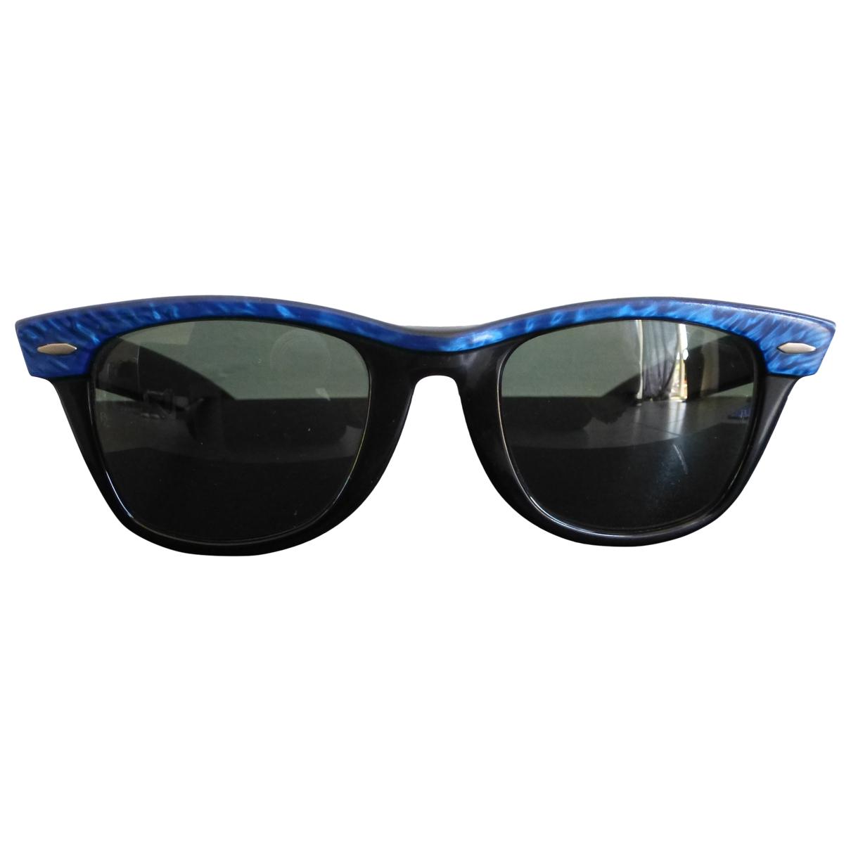 Ray-ban Original Wayfarer Sonnenbrillen in  Blau Kunststoff