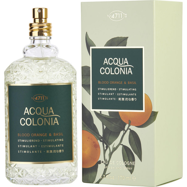 Acqua Colonia Orange Sanguine & Basilic - 4711 Colonia en espray 170 ML