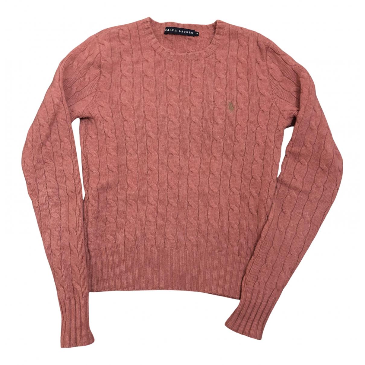 Ralph Lauren - Pull   pour femme en laine - blanc
