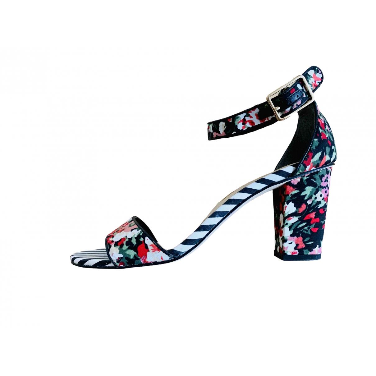 Non Signé / Unsigned \N Multicolour Leather Sandals for Women 40 EU
