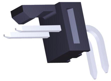 Molex , KK 254, 171857, 2 Way, 1 Row, Right Angle PCB Header (5)