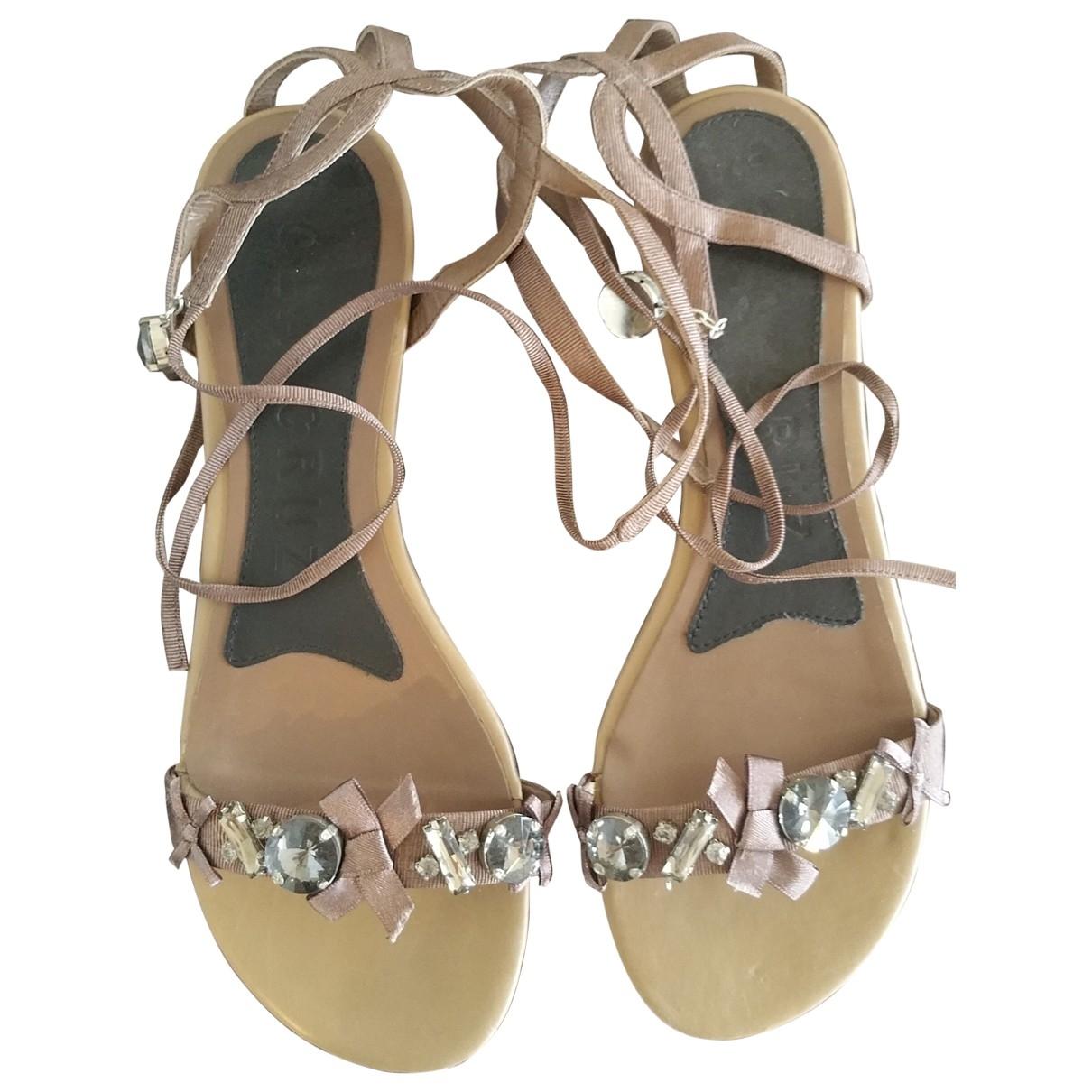 Sandalias de Lona Lola Cruz