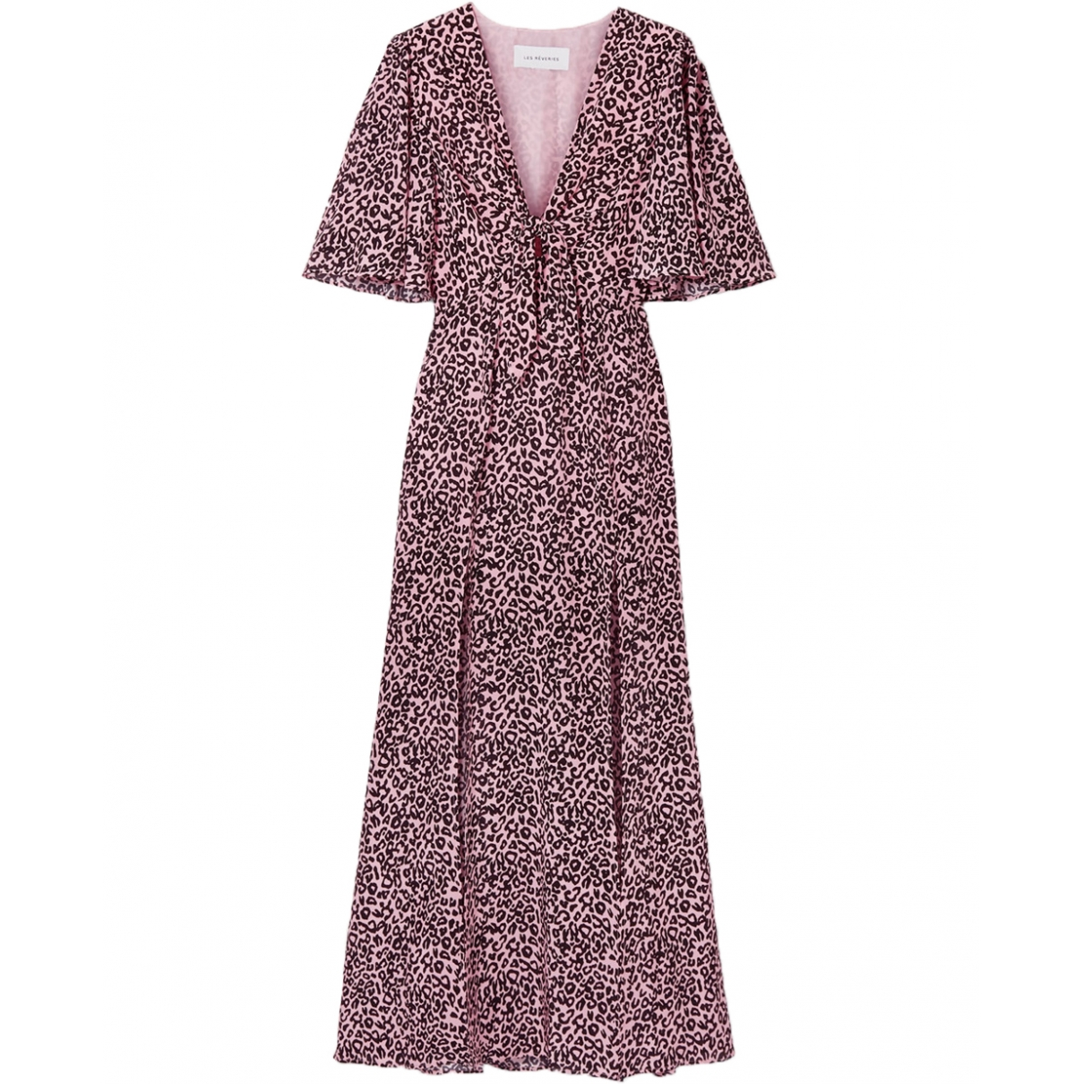 Les Reveries - Robe   pour femme en soie - rose