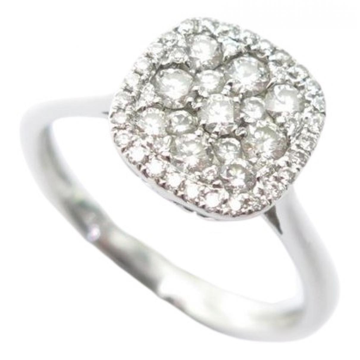 Djula \N Silver White gold ring for Women 52 MM