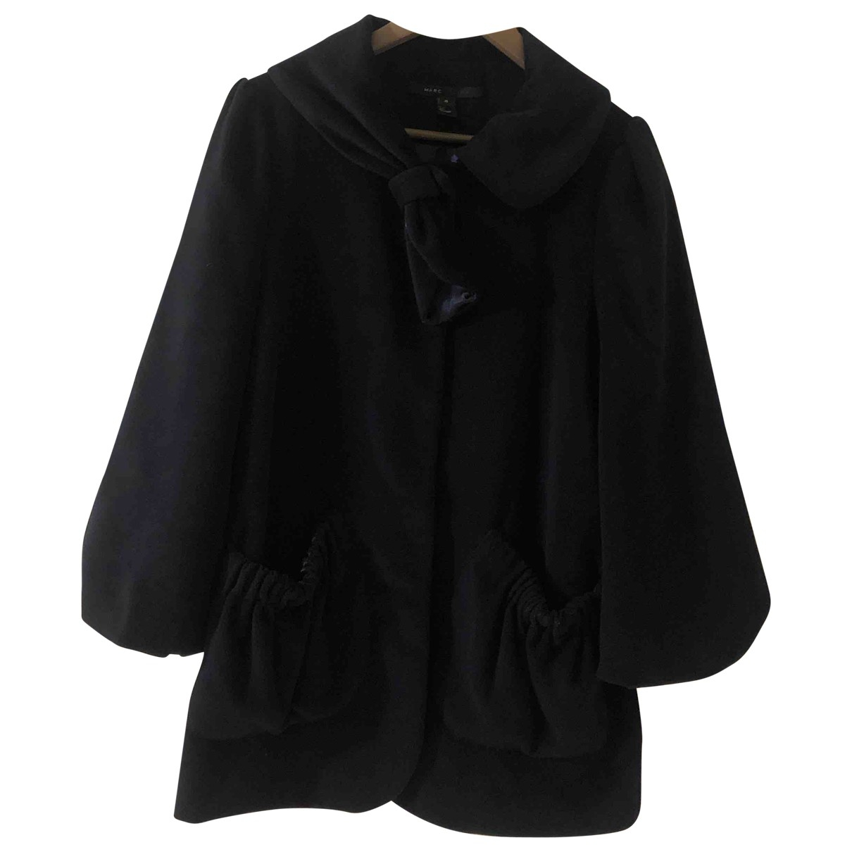 Marc Jacobs \N Navy Wool coat for Women 4 US