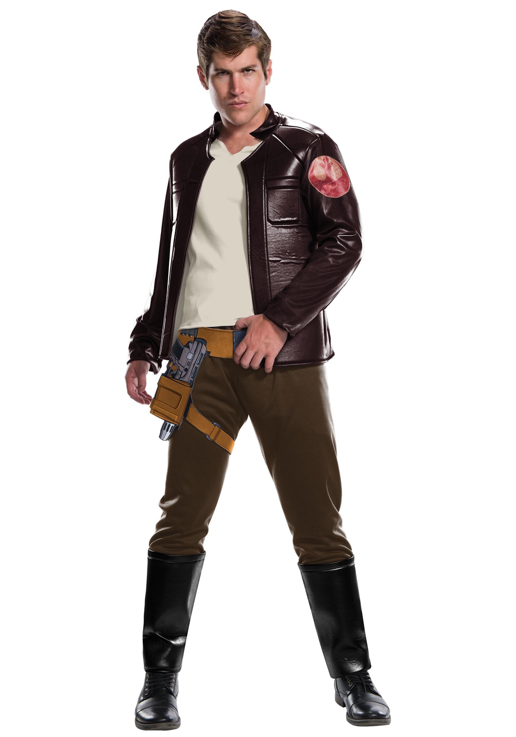 Star Wars The Last Jedi Deluxe Poe Dameron Costume for Men