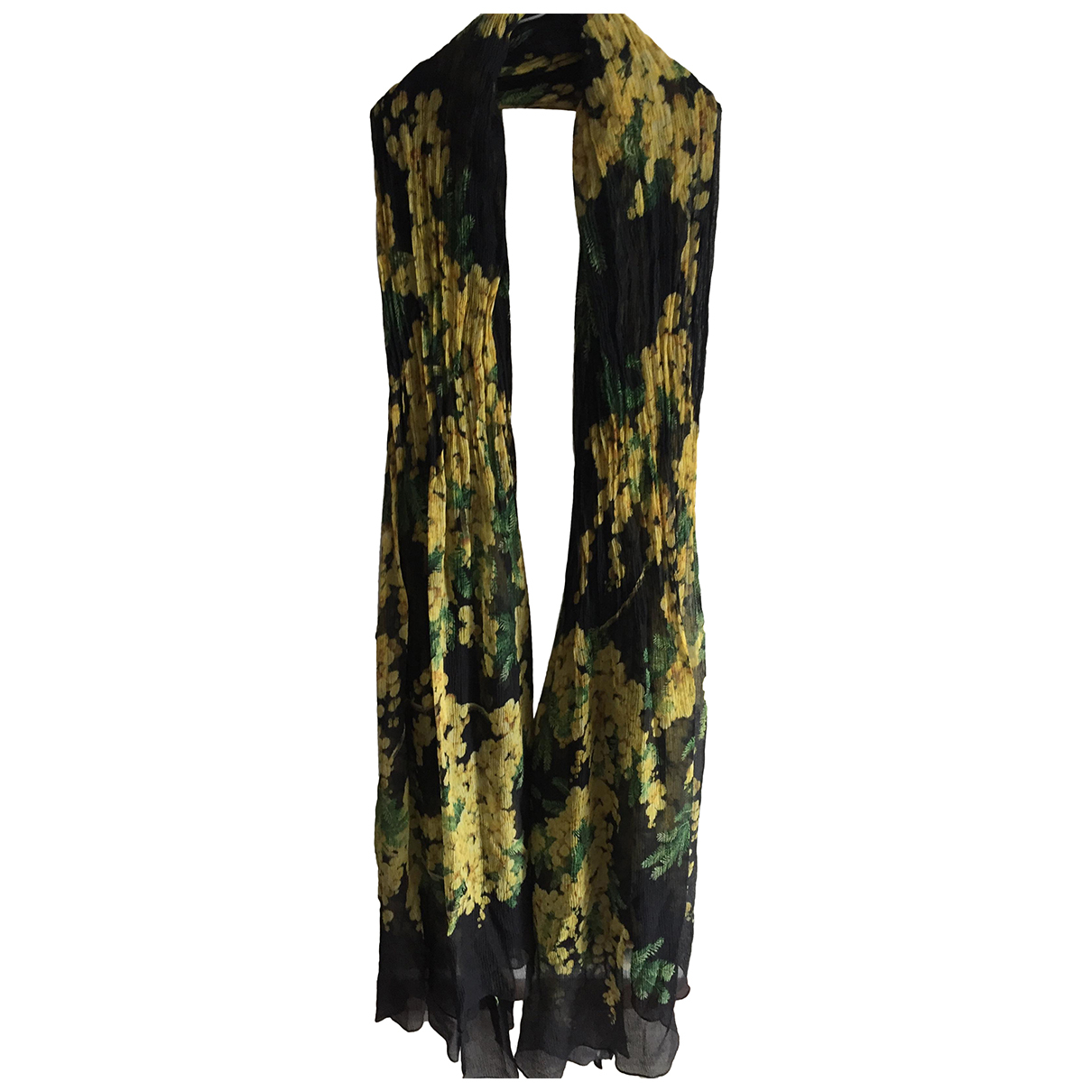 Dolce & Gabbana N Black Silk scarf for Women N