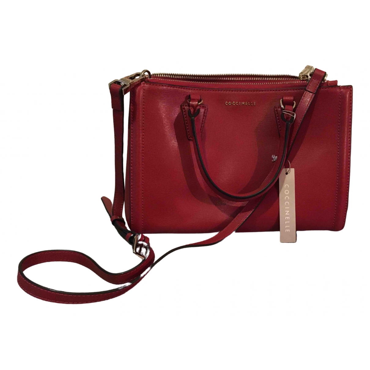 Coccinelle \N Red Leather handbag for Women \N