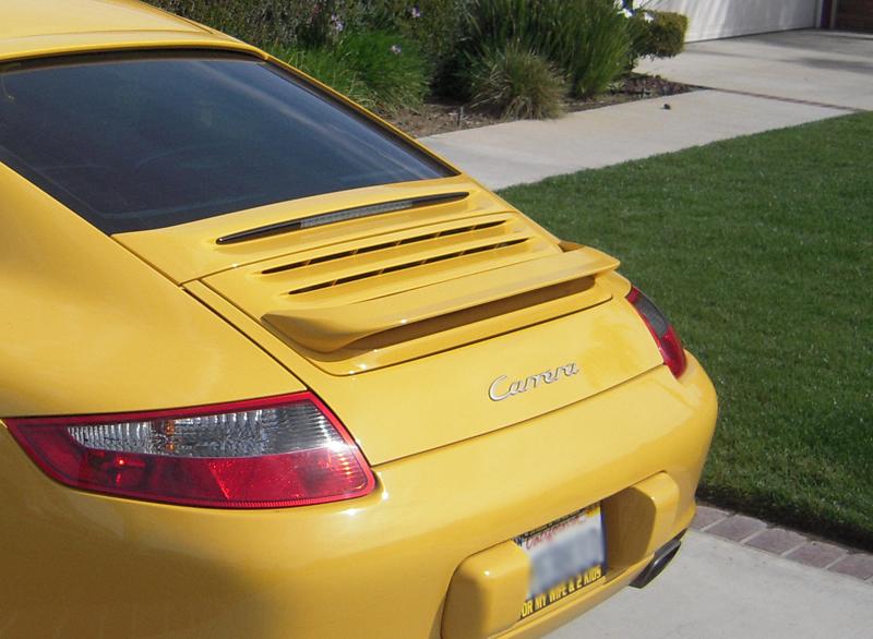 TechArt 097.100.800.009 Rear Wing I Porsche 997.1 Carrera 05-08