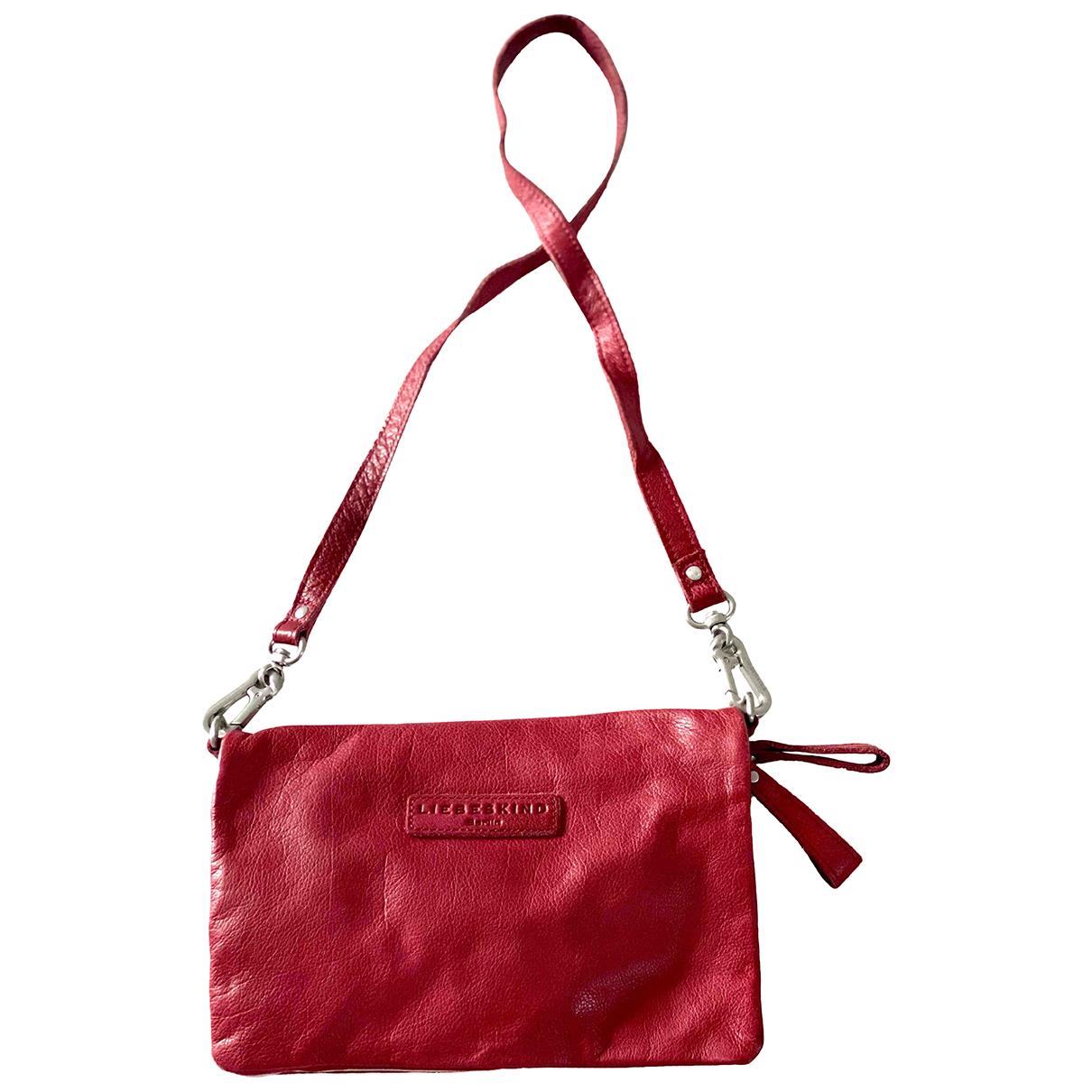 Liebeskind \N Red Leather Clutch bag for Women \N