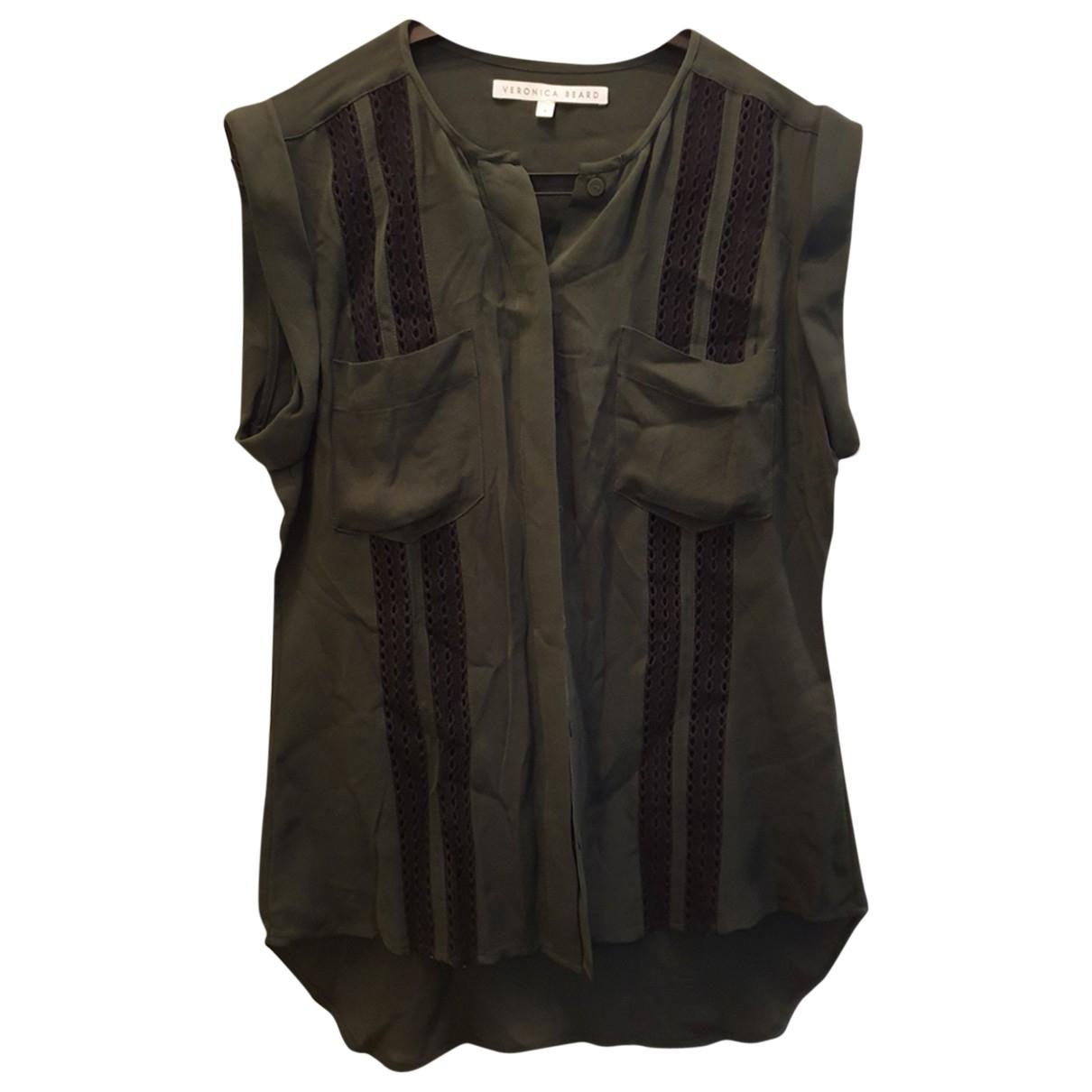 Veronica Beard \N Green Silk  top for Women M International