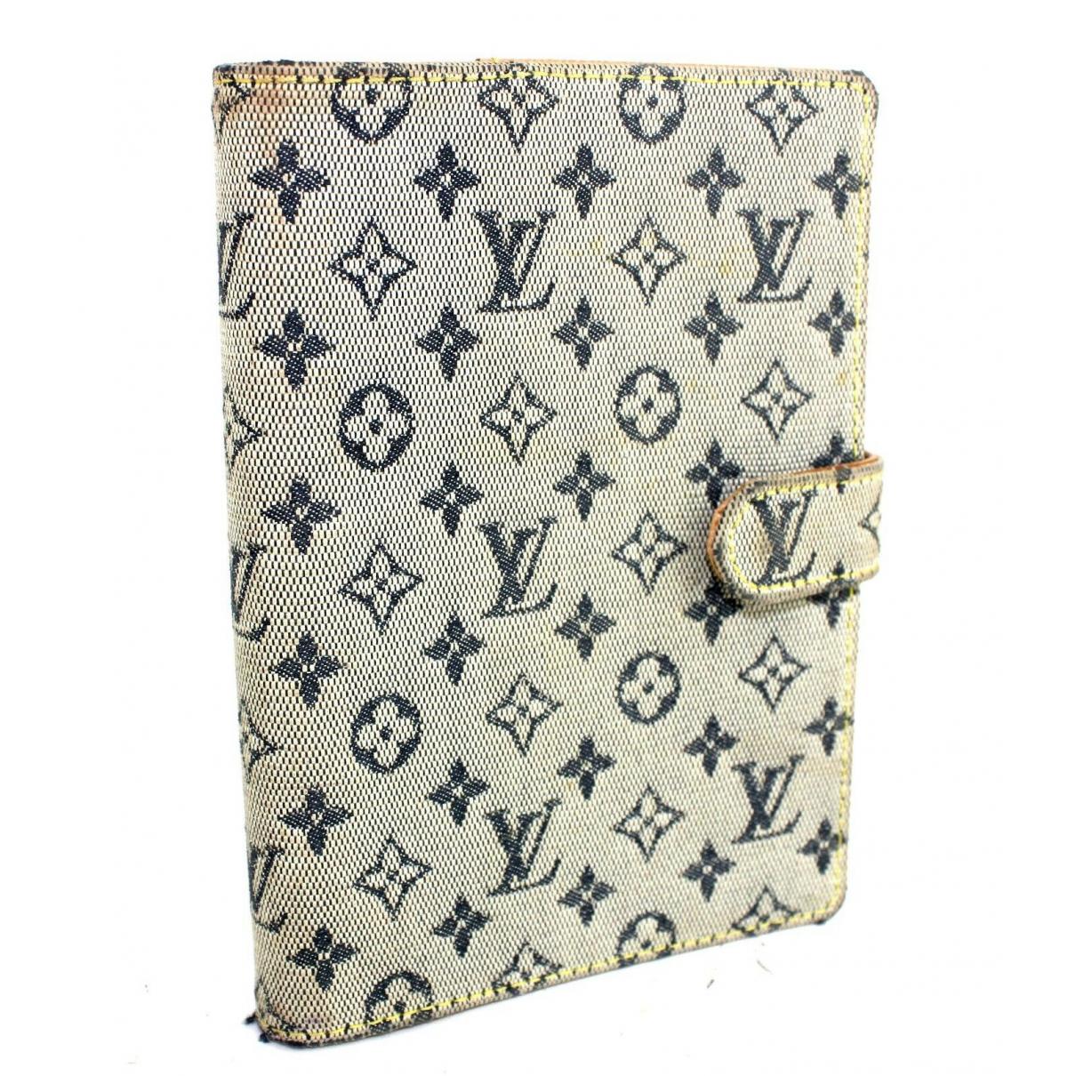 Louis Vuitton - Portefeuille   pour femme en cuir - gris