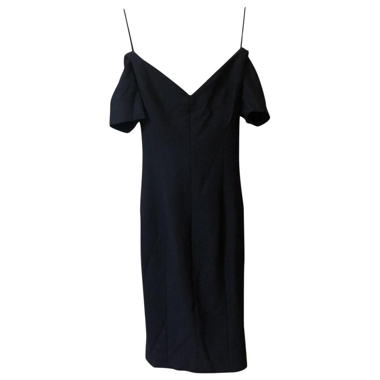Elizabeth And James \N Kleid in  Schwarz Polyester