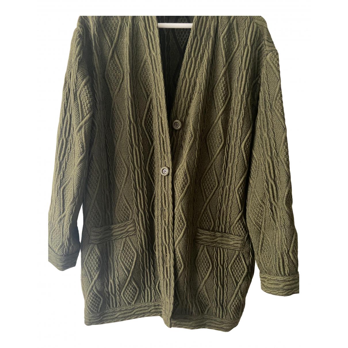 Moschino - Veste   pour femme en laine - vert