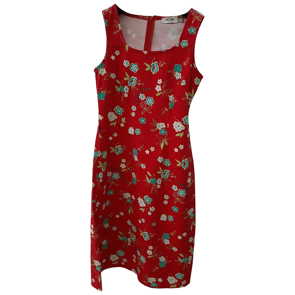 Moschino Cheap And Chic \N Red Cotton - elasthane dress for Women 40 IT