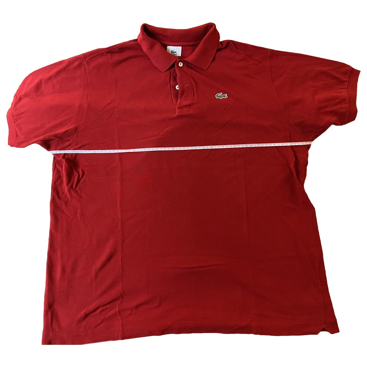 Lacoste \N Poloshirts in  Rot Baumwolle