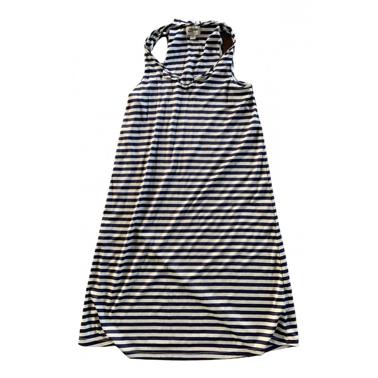 Jean Paul Gaultier \N Kleid in  Blau Viskose