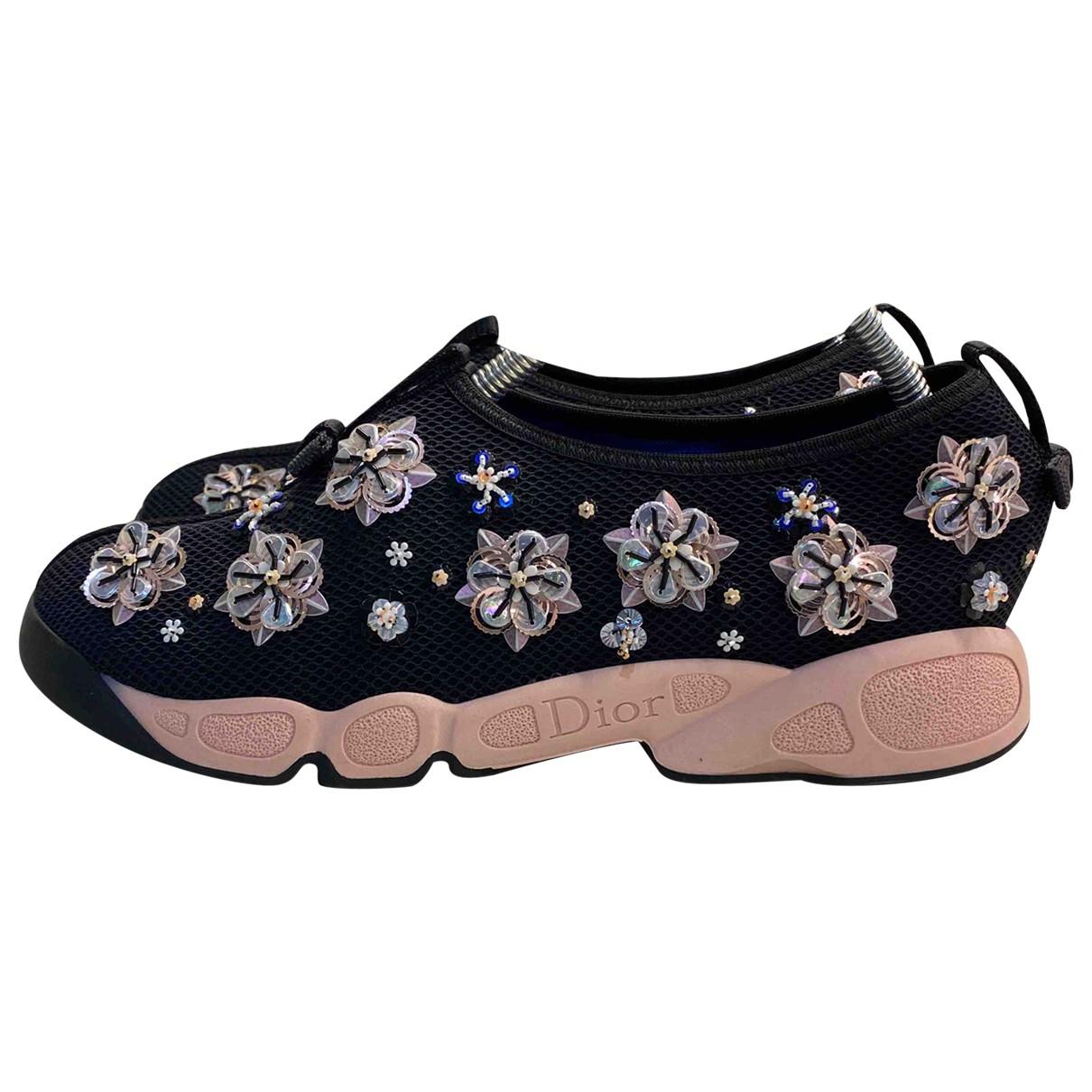 Dior Dior Fusion Sneakers in  Rosa Mit Pailletten