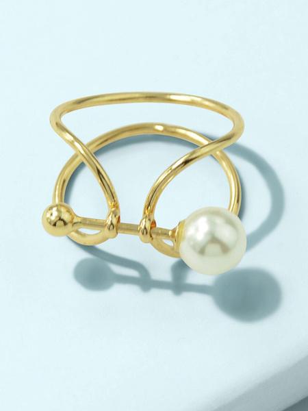 Milanoo Finger Jewelry Blond Zinc Alloy Women Jewelry