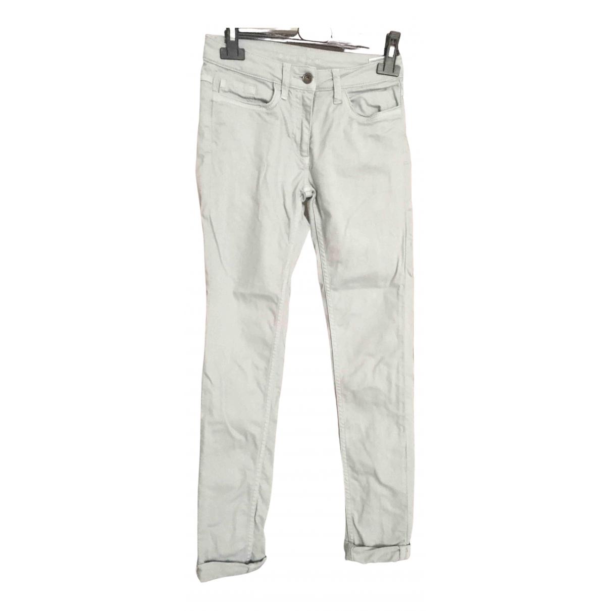 Sandro N Blue Cotton - elasthane Jeans for Women 36 FR