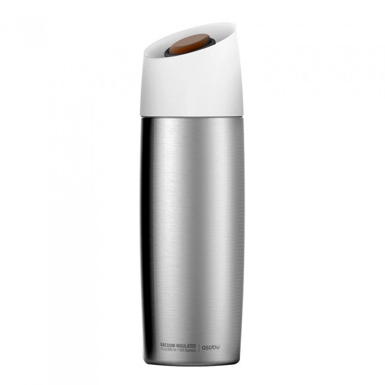 "Thermobecher Asobu ""5th Avenue Silver"", 390 ml"