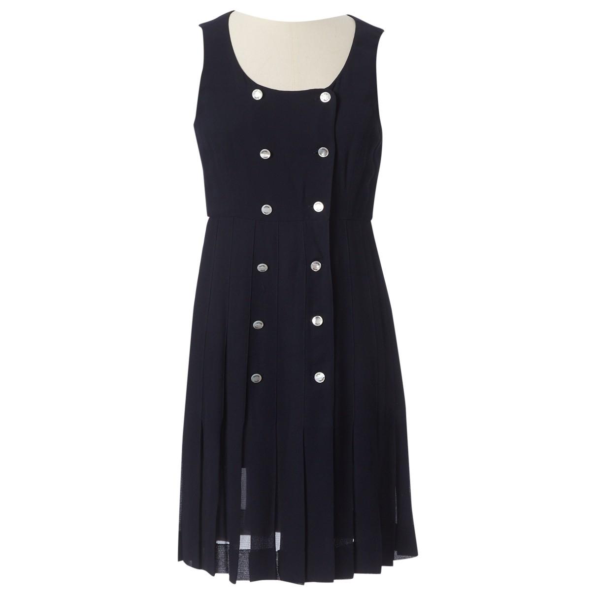Chanel \N Blue dress for Women 38 FR