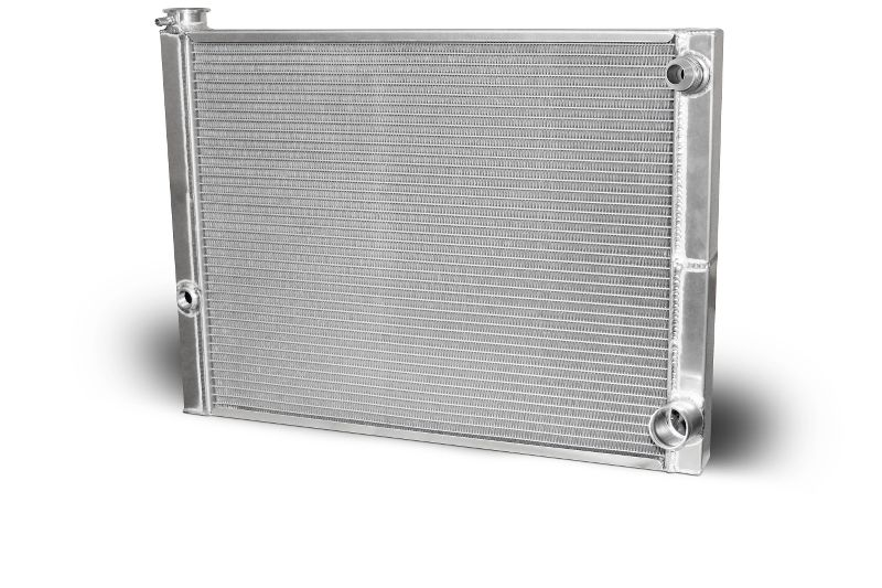 AFCO 80185NDP-16 Double Pass Radiator 27.5 X 19 X 1.50 Core 16 AN Male Inlet