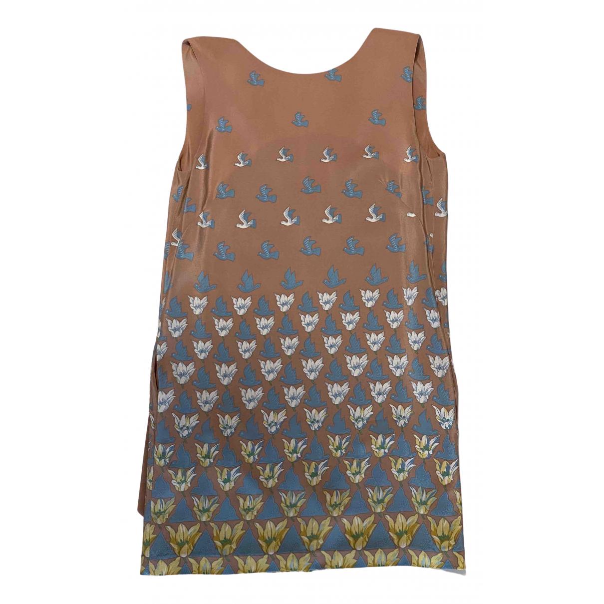 Paul & Joe \N Beige Silk dress for Women 36 FR