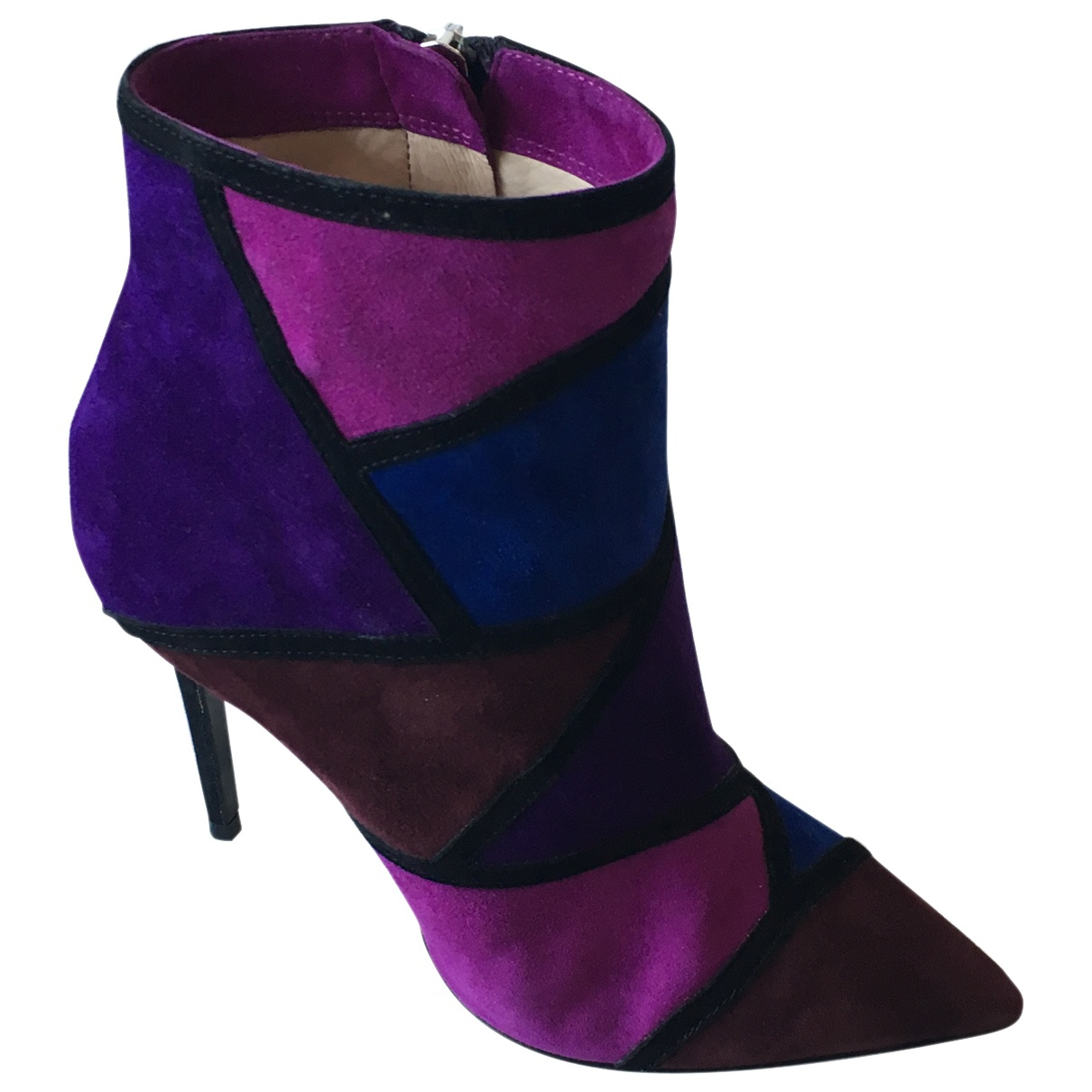 Roberto Festa \N Multicolour Suede Ankle boots for Women 37 EU