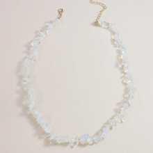 Natural Stone Decor Necklace