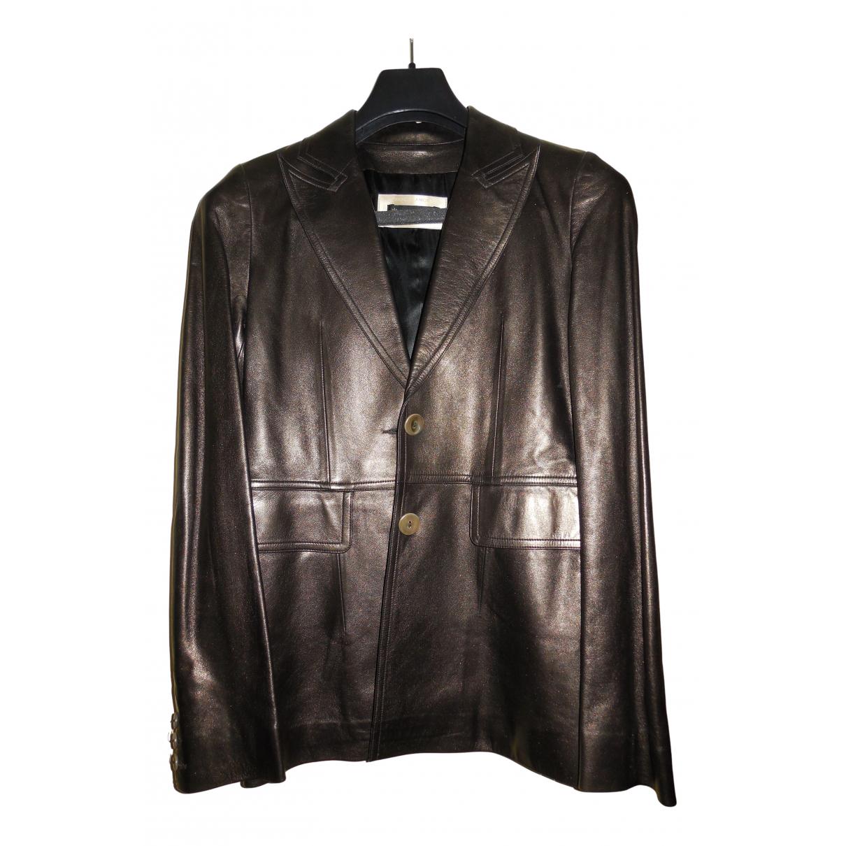 Plein Sud N Leather jacket for Women 38 FR